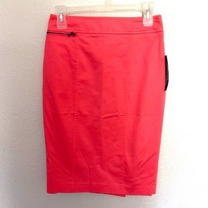 MOSSIMO woman's coral pensil skirt size 2